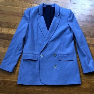 Express Longline Double Breasted Blazer
